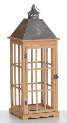 Large Square Lantern Panelled Glass